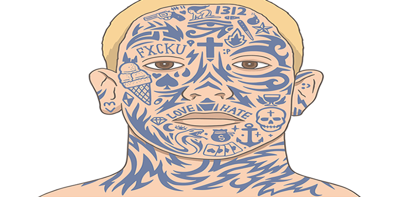 You want a good job – but you also want a facial tattoo. What should you do?