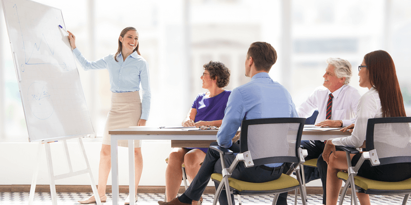 the importance of properly training and supporting employees Managers are ultimately responsible for having properly trained employees, but they often don't have time to properly spearhead training initiatives for decades, companies have hired professional trainers, taking this task off managers' plates.